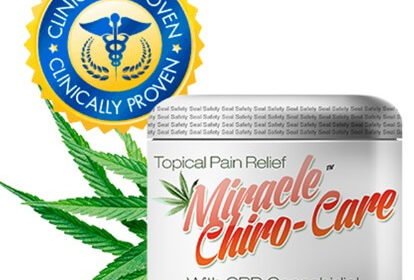 Miracle CBD Chiro Care Cream