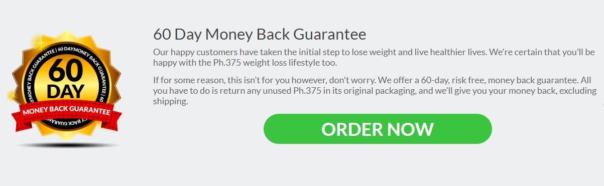 PH375 Money Back
